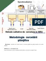 Curs metodologia cercetarii-curs 2