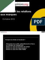 Facebook - Fans de marques - Rapport final - Françaiscourt