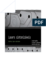 Lasers sintonizáveis