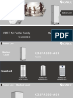 GREE Air Purifier Family