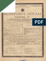 Monitorul Oficial, partea I-a, nr. 256, miercuri 12 noiembrie 1930