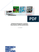 A Pakistani Perspective on Nuclear Disarmament and Non-proliferation by A. H. NAYYAR