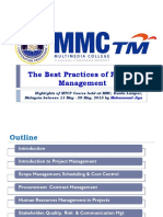 The Best Practices of Project Management - Jiya Muhammad