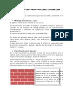 DESCRIPCCION  DE PISO FALSO  DE LADRILLO2