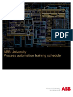 Automation Training Schedule