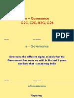 e Governance - Sagar Narsian Feb 2019