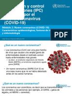 Módulo 2 - El nuevo coronavirus (COVID-19)