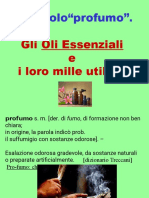 presentazione oli essenziali