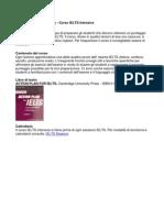 Ielts Intensive Info Italiano 2010-11