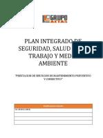AJGC- SEG-PDE-001 PLAN INTEGRADO DE SEGURIDAD