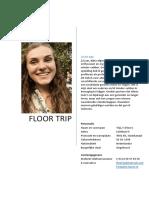 curriculum vitae floor trip