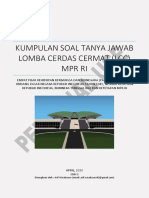Kumpulan Soal Lomba Cerdas Cermat LCC 4 Pilar MPR RI