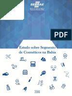 Estudo de Mercado Segmento de Cosméticos na Bahia