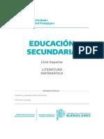 Cuadernillo Nivel Secundario - Ciclo Superior