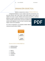 Definición programación didáctica