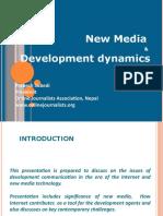 New Media and Development Dynamics