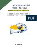 ANTIGUO TESTAMENTO II
