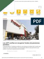 Arequipa_ Las AFP confían en recuperar fondos de pensiones perdidos _ lrsd _ Sociedad - La República