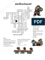 Crossword About Santa Claus