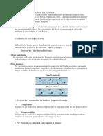 CLASIFICACION DE FLUJOS DE FLUIDOS