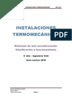 Sistemas de aire aacondicionado-Clasificacion y funcionamiento