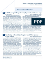 M&A Newsletter Volume 19