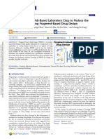 Development of a Web-Based Laboratory Class to Reduce the Challenges in Teaching Fragment-Based Drug Design