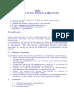 Silabo Ingeniería de Gas, principios y aplicaciones