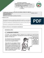 Guía N°1 ciclo V filo