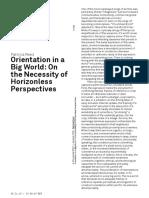Orientation in a Big World