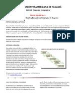 Taller Virtual - Modelo de Estrategias de Negocios - Caso Finca Agrícola