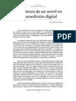 La aventura de un novel en la autoedición digital