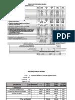 presupuesto de obra Collana