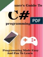 Best new programming book learn C Sharp programming in visual studio 2016.pdf