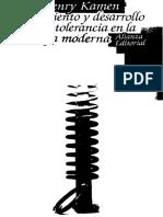 Kamen Henry - Nacimiento Y Desarrollo De La Tolerancia En La Europa Moderna.pdf