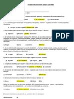 PRUEBA DE UBICACION CIENCIA Y TECNOLOGIA
