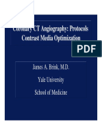 CTA Protocols Contrast Media Optimization