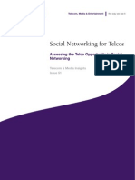 Social Networking for Telcos