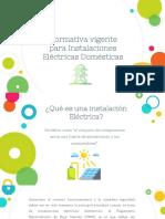 Normas de instalaciones eléctricas