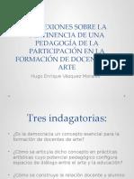 DEMOCRACIA, ARTE Y EDUCACIÓN