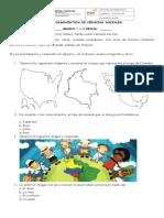 PRUEBA DIAGNÓSTICA CIENCIAS SOCIALES 2019