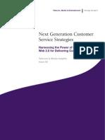 Next Generation Customer Service Strategies