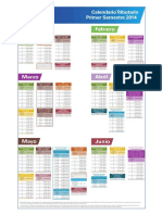 Calendario Tributario - Primer Semestre 2014.pdf