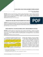 IDADE SUBJETIVA E SUAS RELAÇÕES COM O ENVELHECIMENTO ...pdf