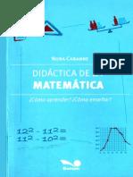 Didáctica de La Matemática - Nora Cabanne-(E-pub.me)
