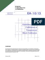 EA-10-13 Calibration of Temperature Block Calibrators.pdf