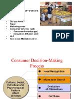 Consumer Behavior Ppt 2