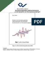 Boris Motko (Autor) Studium des Informationsgehaltes elektrochemischer Rauschsignale für die Sensorik von Korrosionsvorgängen