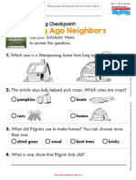 reading check point long ago neighbors