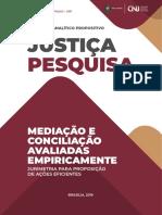 MEDIAÇÃO e conciliação avaliadas empircamente CNJ.pdf